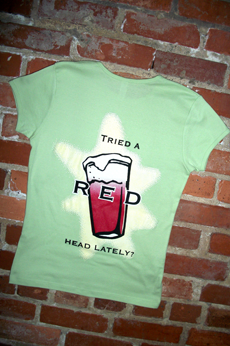 Max Lager's Red Head Ladies T